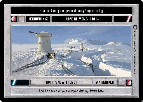 Hoth: Snow Trench