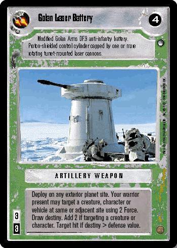 Golan Laser Battery