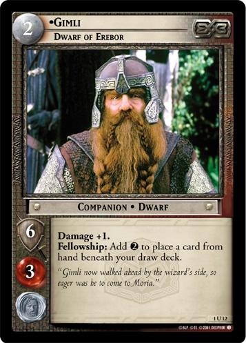 Gimli, Dwarf of Erebor