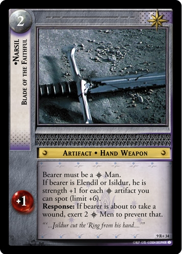 Narsil, Blade of the Faithful
