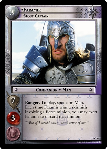 Faramir, Stout Captain