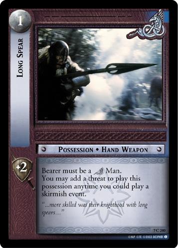 Long Spear
