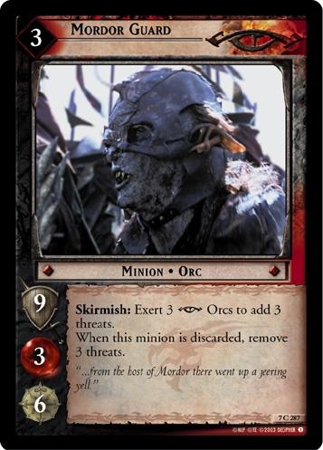 Mordor Guard