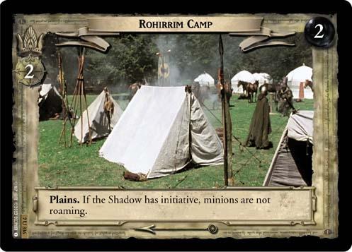 Rohirrim Camp