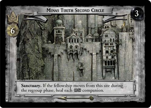 Minas Tirith Second Circle