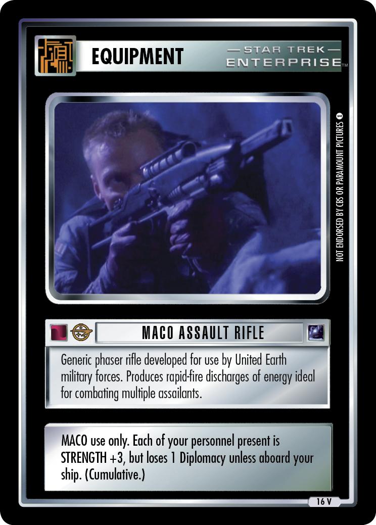 MACO Assault Rifle