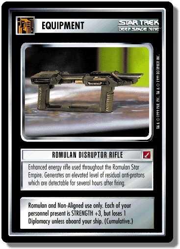Romulan Disruptor Rifle