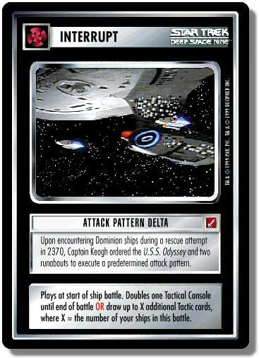 Attack Pattern Delta