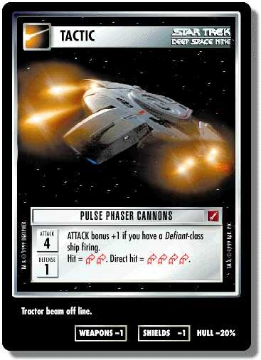 Pulse Phaser Cannons