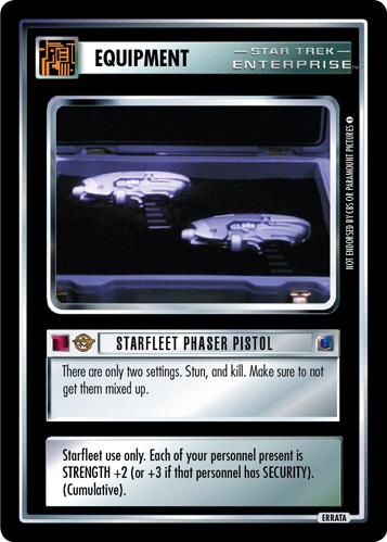 Starfleet Phaser Pistol