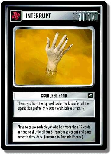 Scorched Hand (first version)