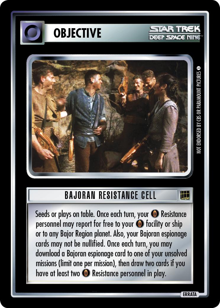 Bajoran Resistance Cell
