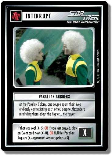 Parallax Arguers