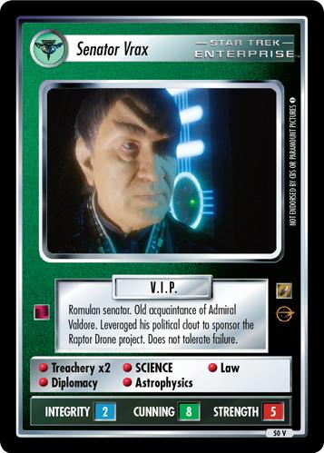 Senator Vrax