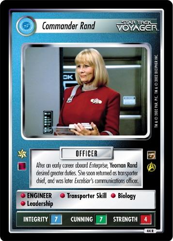 Commander Rand