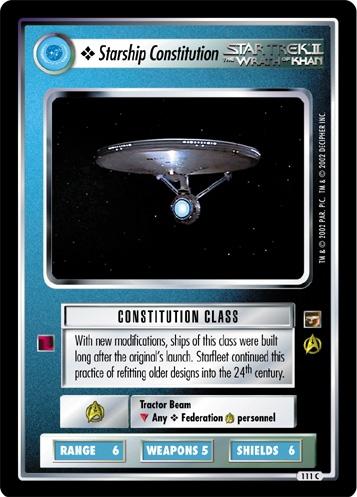 Starship Constitution
