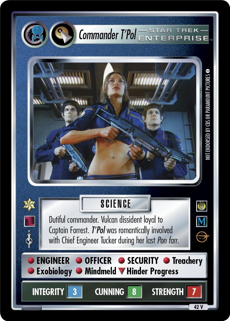 Commander T'Pol