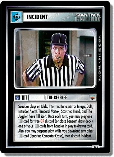 Q the Referee (first version)