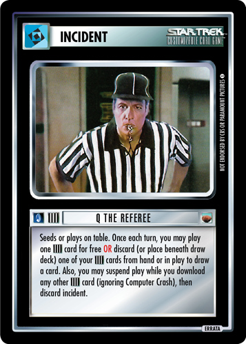 Q the Referee