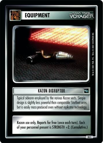 Kazon Disruptor