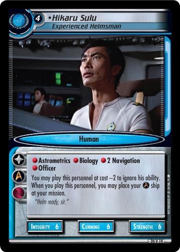 Hikaru Sulu, Experienced Helmsman (first version)