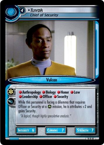 Tuvok, Chief of Security
