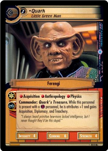Quark, Little Green Man