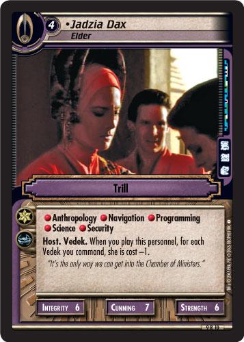 Jadzia Dax, Elder