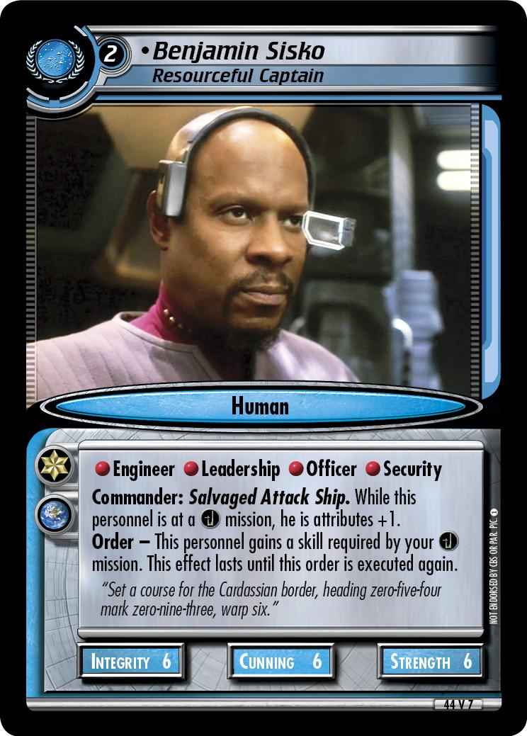 Benjamin Sisko, Resourceful Captain