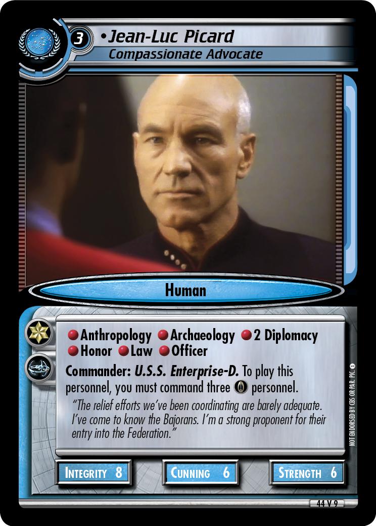 Jean-Luc Picard, Compassionate Advocate