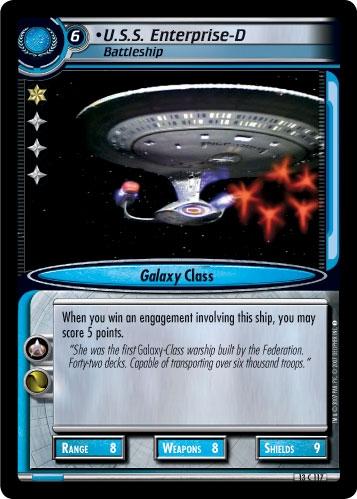 U.S.S. Enterprise-D, Battleship
