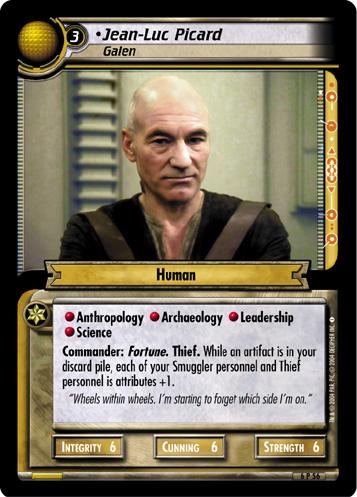 Jean-Luc Picard, Galen