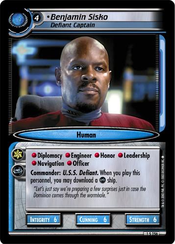 Benjamin Sisko, Defiant Captain
