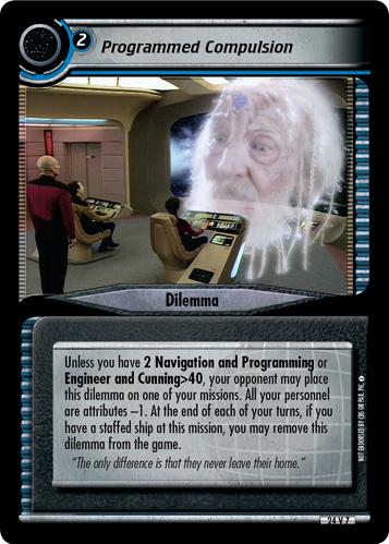 Programmed Compulsion