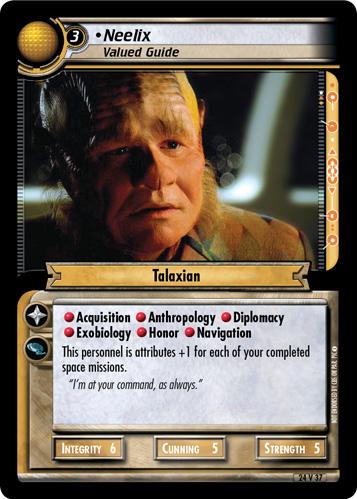 Neelix, Valued Guide