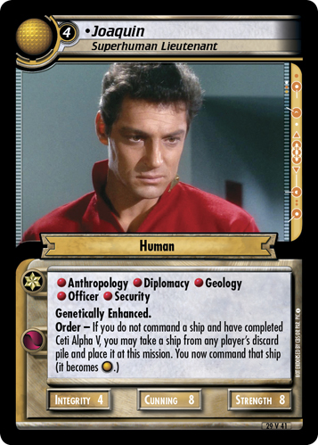 Joaquin, Superhuman Lieutenant