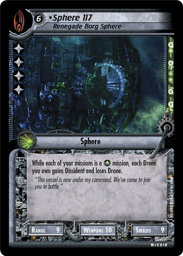 Sphere 117, Renegade Borg Sphere